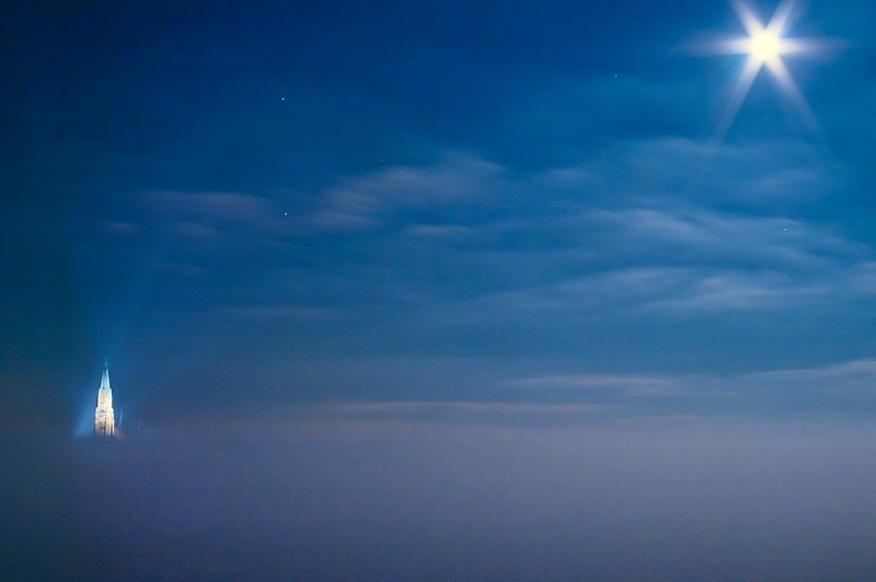 Photo of the Day: Winter Full Moon