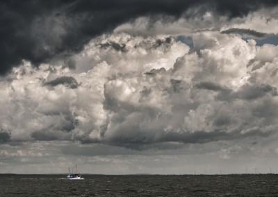 Nordsee vor Büsum - 2014