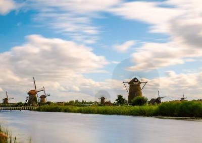 Kinderdijk, Niederlande